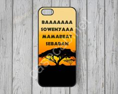 lion king iPhone 5 case disney iPhone 5s case by CaseCabinet