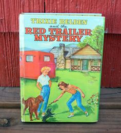 Trixie Belden and the Red Trailer by TowardTheNorth on Etsy
