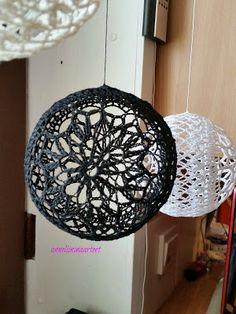 Anneliinin Aarteet : helmikuuta 2016 Ceiling Lights, Sewing, Pendant, Crochet, Crafts, Home Decor, Crocheting, Dressmaking, Manualidades