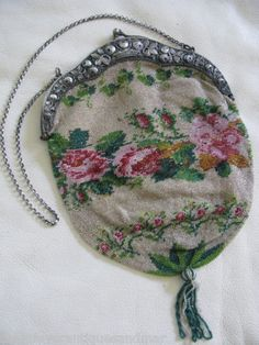 Старинная вышивка бисером и счетные схемы - Ярмарка Мастеров - ручная работа, handmade