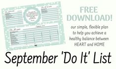 Our 'Do It' List is divided into daily, weekly, and monthly tasks that will help you manage your home effectively. At least one monthly task is changed out each month. Our unique-to-September task is CLEANING BASEBOARDS. Download your FREE September 'Do It' List today and start on the road to a cleaner, healthier home. Cleaning Baseboards, Flexibility, Organize, September, How To Plan, Unique, Free, Back Walkover