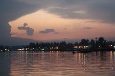 The Sunset Shikara Ride @ Dal Lake..