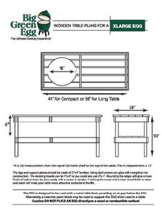 Big Green Egg Cart Plans | How to Made : Table Plans For ...