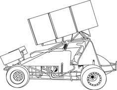 Sprint Car Coloring Page http://www.amickracing.com/kids/sprint_1.gif