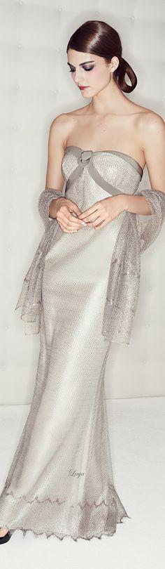 subtle - Escada ~ Strapless Evening Gown, Pre-Fall 2015