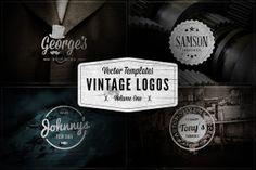 Vintage Logos - Vol.1 ~ Logo Templates on Creative Market