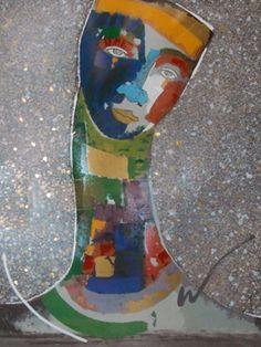 Untitled Painting by Agudelo-Botero Orlando (Orlando A. Global Art, Orlando, Christmas Stockings, Buddha, Abs, Painting, Culture, Fine Art, Holiday Decor
