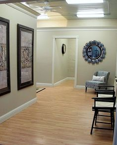 Home Tour The Entry Wall Colors Walls And Hgtv