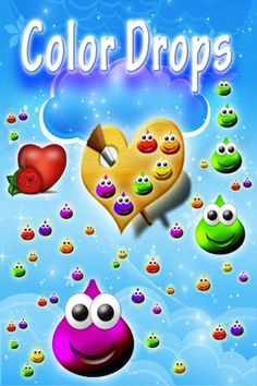 Color Drops - Children's animated draw & paint interactive game HD ! - iOS app from KID BABY TODDLER LTD. | Appolicious ™ iPhone and iPad App Directory