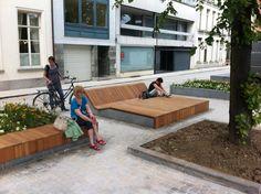 AECCafe.com - ArchShowcase - Lange Schipstraat and Lekkernijstraatje in Mechelen, Belgium by OKRA Landscape Architects