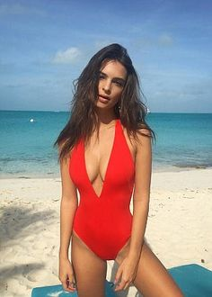 The festival's homepage features a host of top models including Emily Ratajkowski (pictured), Bella Hadid, Alessandra Ambrosio, Hailey Baldwin and Joan Smalls relaxing on the beach and swimming through crystal clear waters