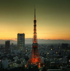 Tokyo 1211 (via tokyoform) Tokyo Tower, Asia Travel, Paris Skyline, Scenery, Pictures, Photography, Facebook, Twitter, Prints