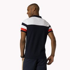 Shop the blue cotton blend slim fit polo and explore the Tommy Hilfiger polos collection for men. Free returns & free delivery over €100. 8719254256782