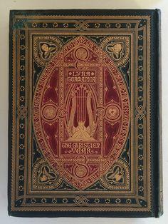 Victorian Rarity, Lyra Germanica, Hymns, 1865,Gilt, Fine John Leighton Binding