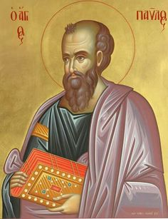 Paul The Apostle, Orthodox Icons, Saints, Prayers, Contemporary, Movie Posters, Inspiration, Angels, Paintings