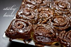 Sticky Buns with a different bread resipe