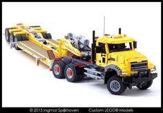 Rugged as granite Lego Technic Truck, Lego Truck, Legos, Lego Studios, Lego Building Sets, Lego Machines, Lego Builder, Lego System, Lego Construction