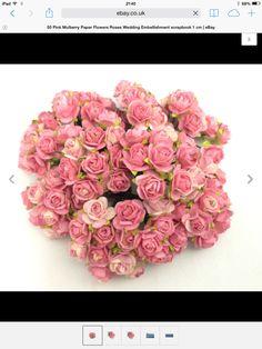 Paper roses eBay