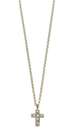 Pave Cross Necklace   Cross   Minor Obsessions