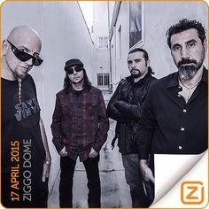 System Of A Down   17 april 2015   Ziggo Dome, Amsterdam