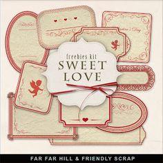Far Far Hill: New Freebies Kit of Labels