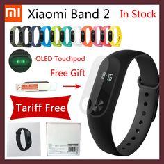 Originale xiaomi mi band 2 smart fitness vigilanza del braccialetto del wristband miband oled touchpad sonno monitor della frequ