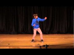 This kid has got some seriously impressive moves. I could swear he doesn't have any bones at a couple points!