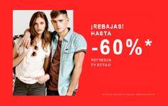 Descuentos de hasta un 60% en moda y accesorios en Zalando