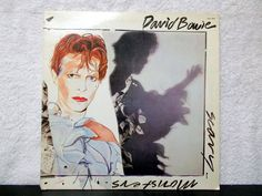 David Bowie- Scary Monsters and Super Creeps- Original 1980 RCA Records vinyl LP 33. Ashes to Ashes by AbqArtistry on Etsy