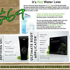 Savings of $ 105 if you become a loyal customer www.wrapsbytiffanygrace.myitworks.com
