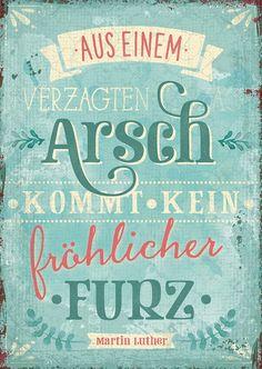Postkarte - Fröhlicher Furz