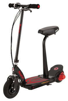 The UKs top selling electric scooter gets even better- now you can take a seat and ride in comfort! The Razor Power Core features an Electric Scooter With Seat, Electric Bicycle, Electric Cars, Inline, Chicago Bears Hoodie, Best Scooter, Quad Bike, Ride On Toys, New Gadgets