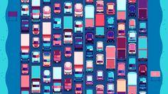 """다음 @Behance 프로젝트 확인: """"Why, Traffic, Why?"""" https://www.behance.net/gallery/56300981/Why-Traffic-Why"""