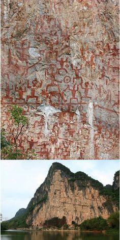 The Huashan Rock Art Site (China): The Sacred Meeting Place For Sky, Water And Earth | Qian Gao - Academia.edu