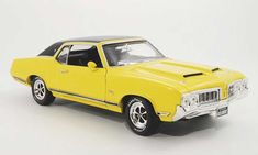 ertl+1+18+diecast+cars   Oldsmobile Cutlass SX yellow/back 1970 Ertl 1/18