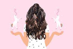 Trança de Unicórnio — Penteado do verão!