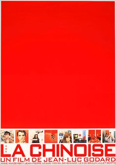 Movie Poster of the Week: The Lesser-Known Posters of Jean-Luc Godard on Notebook | MUBI