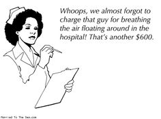 Why healthcare costs so much.