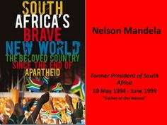 This is a presentation on the life of Nelson Mandella, the changes in South Africa.