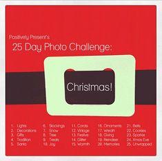 25 Days of Christmas Photo Challenge