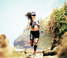Shona Stephenson, Photo: Michael Leadbetter In Trail Running Magazine.