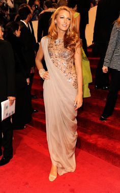 This Chanel that Blake Lively wore to the 2011 Met Gala was a divisive look but we happened to love it!