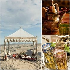 Moroccan teatime