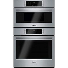 aefe61866e13 Shop Bosch Self-cleaning Convection Microwave Wall Oven Combo (Stainless  Steel) (Common  30 Inch