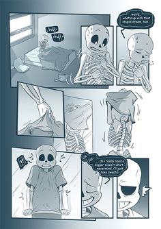Chapter 01: • - Previous • - Next - Prologue Visit us on - http://punnyskele-scientist.tumblr.com/ - Gods. *sobs* I will never draw a naked skeleton again ever. Such a bonely torture! Had troubles... (1)