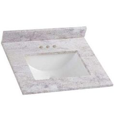 Home Decorators Collection 25 in. W x 8 in. H x 22 in. D Stone Effects Bathroom Vanity Top in Winter Mist with White Sink - The Home Depot Cultured Marble Vanity Tops, Sink Top, Bathroom Vanity Tops, White Sink, Single Sink, Vanity Cabinet, Decorative Tile, Bath Decor, Mold And Mildew