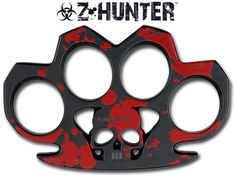 Zombie Hunter Brass Knuckles, Red