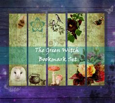 Single Image, Your Image, Bookmarks, Witch, Fox, Printables, Green, Prints, Painting
