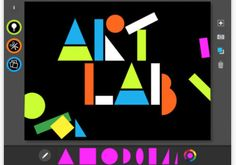 MoMA Art Lab App -- one of the coolest art apps we've found.