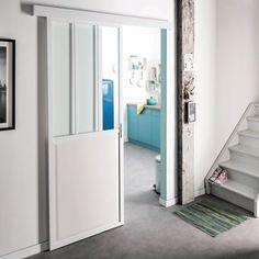 Porta Da Interno Scorrevole Atelier Bianco 86 X H 215 Cm Reversibile Prezzi E Offerte Online Leroy Merlin Porte Interne Porta Interna Porte Scorrevoli